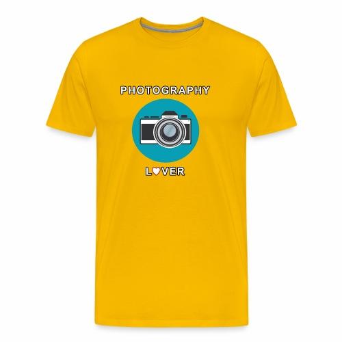 Photography Lover - Maglietta Premium da uomo