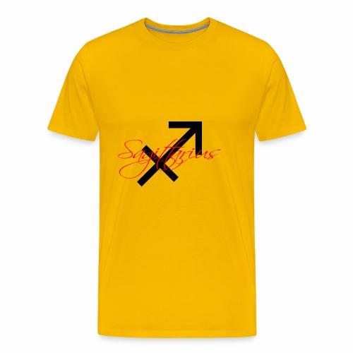 Sagittarius, by SBDesigns - Men's Premium T-Shirt