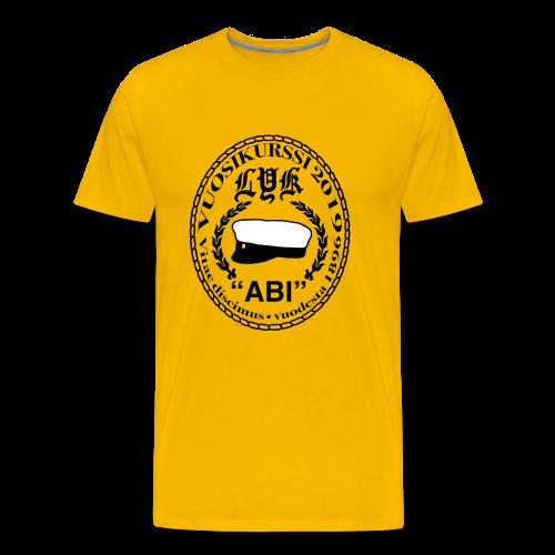 LYK ABI - Miesten premium t-paita
