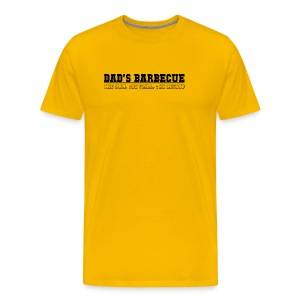 Dad's Barbecue BBQ - Männer Premium T-Shirt