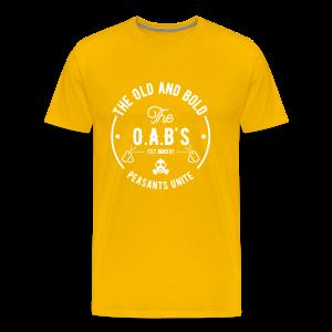 OAB unite white - Men's Premium T-Shirt