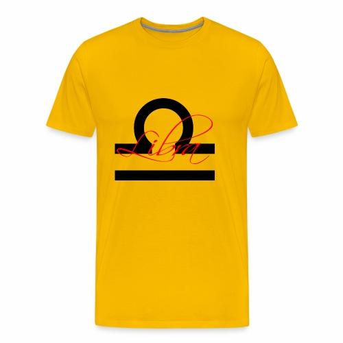 Libra, by SBDesigns - Men's Premium T-Shirt