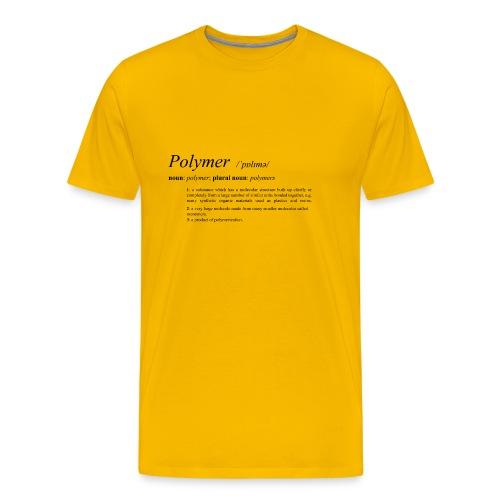 Polymer definition. - Men's Premium T-Shirt