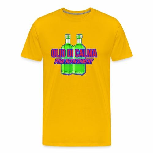 OLIO DI CALMA LINE - Maglietta Premium da uomo
