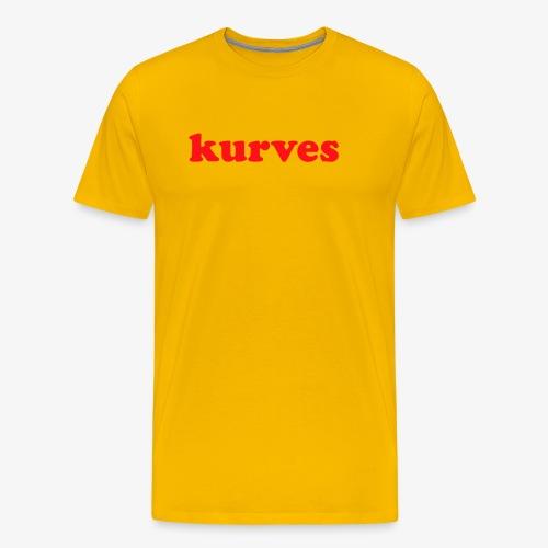 KURVES XIV - T-shirt Premium Homme