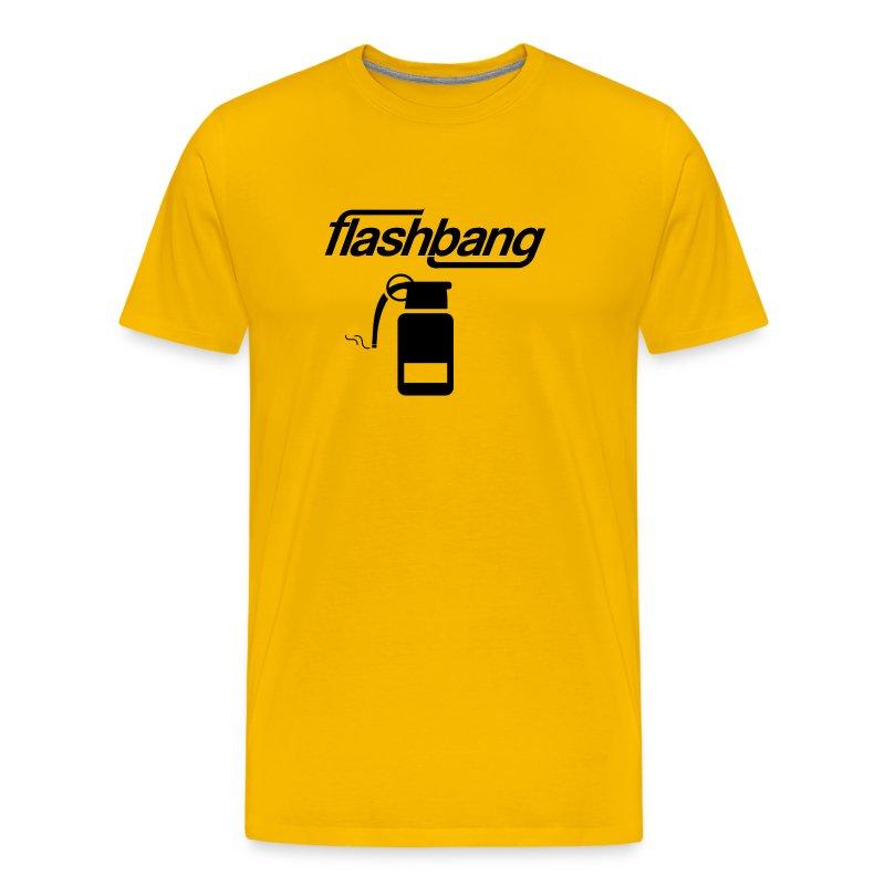 FlashBang Logga - Utan Donation - Premium-T-shirt herr