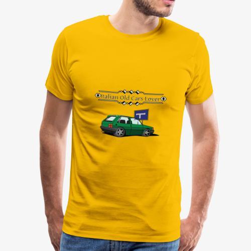 Italian Old Cars Lover - Maglietta Premium da uomo