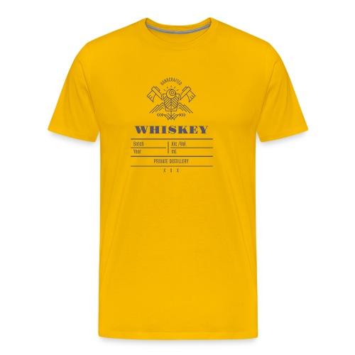 Whiskey - T-shirt Premium Homme