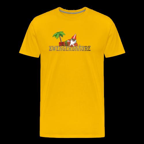 ZWERGENBRÄUNE - Männer Premium T-Shirt
