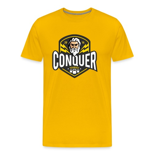 Conquer Yourself Clothing - Männer Premium T-Shirt