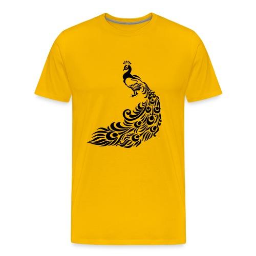 Pfau - Männer Premium T-Shirt