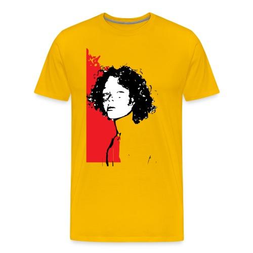 L'enfant rouge représente la terre rouge d'Afrique - T-shirt Premium Homme