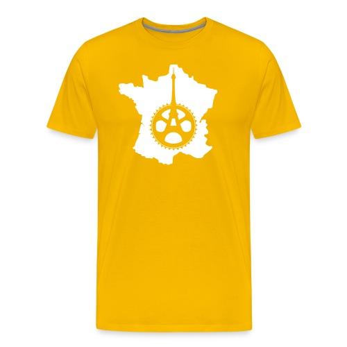 ronde van Frankrijk - Mannen Premium T-shirt