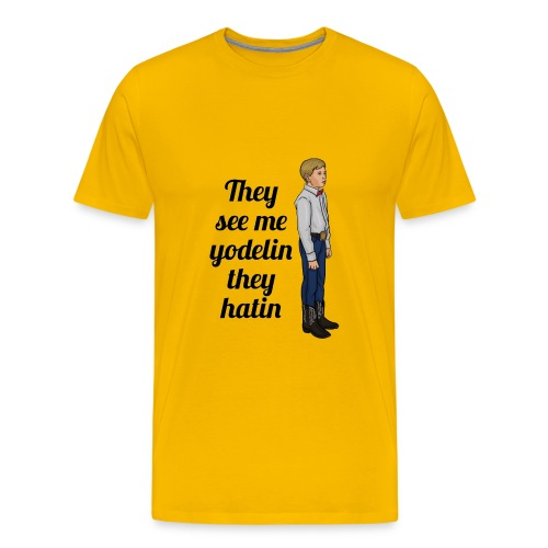 Tenn1sTv Yodelin Kid - Men's Premium T-Shirt