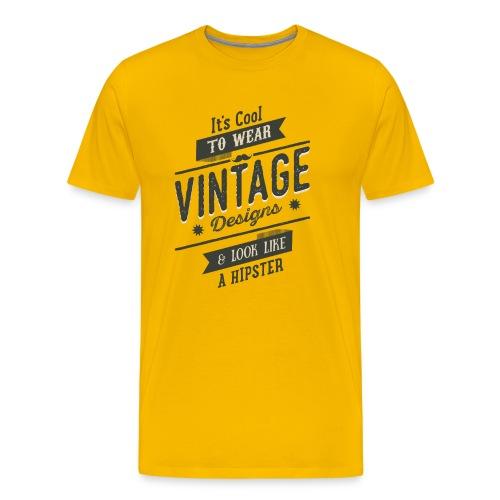 Vintage Design dark - Men's Premium T-Shirt