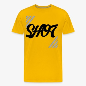 Shot text - Men's Premium T-Shirt