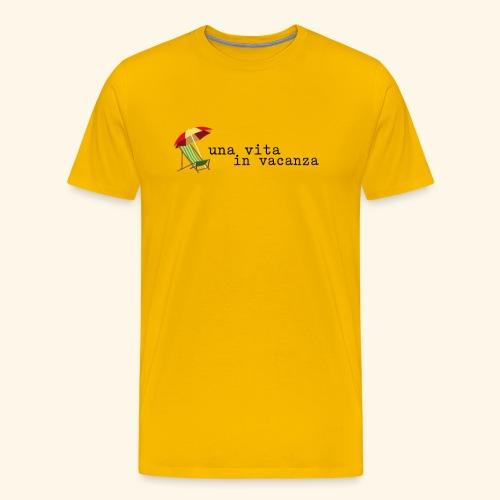 Vita in Vacanza - Maglietta Premium da uomo