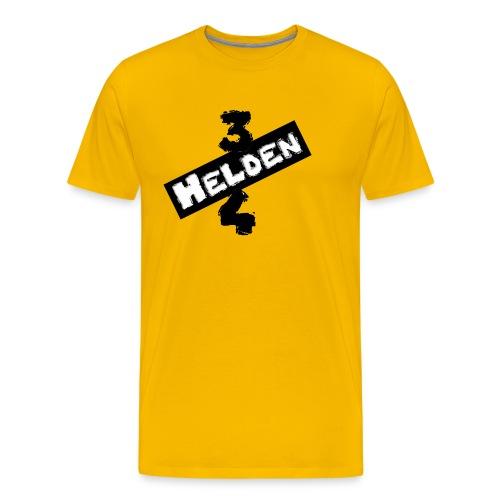 Schriftzug S/W - Männer Premium T-Shirt