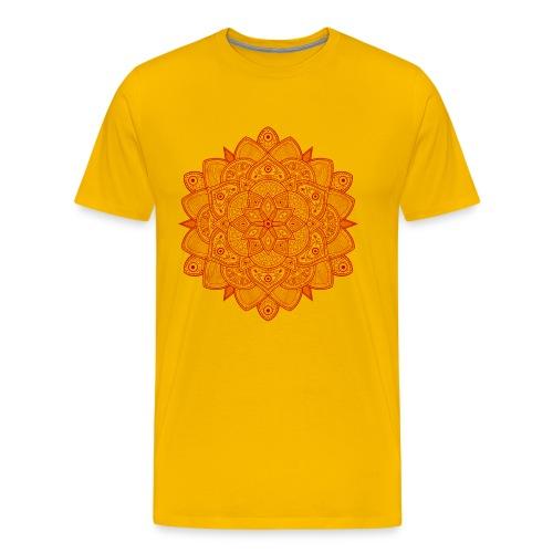 Mandala (Rojo) - Camiseta premium hombre