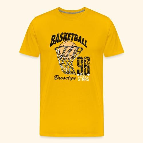Broclyn alle Stars Basketball .Eine Geschenkidee - Männer Premium T-Shirt