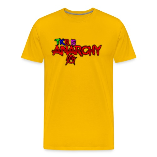 TKR IS ANARCHY! - Premium-T-shirt herr
