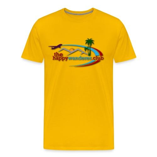 The Happy Wanderer Club Merchandise - Men's Premium T-Shirt