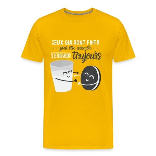 Ceux qui sont faits pour être ensemble - T-shirt Premium Homme