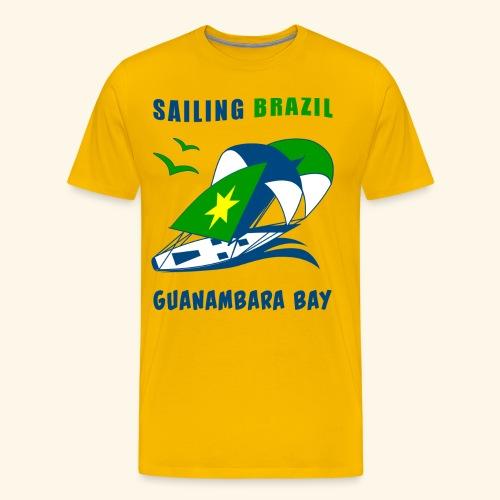 Sailing Brazil - Men's Premium T-Shirt