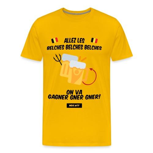Allez les belches! - T-shirt Premium Homme