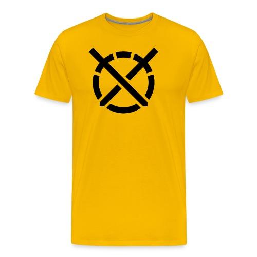 «Arte do Combate» simbolo preto - Camiseta premium hombre