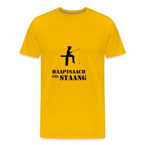 Haaptsaach eng Staang - Männer Premium T-Shirt