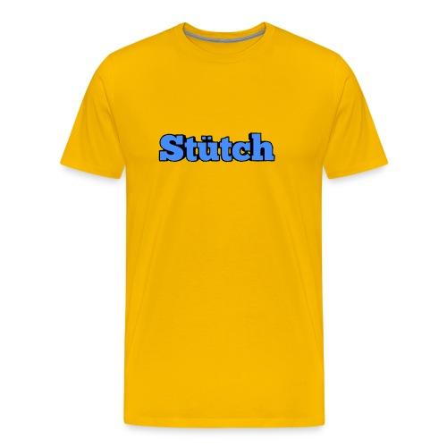 Stütch Name Design - Männer Premium T-Shirt