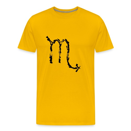 Sternzeichen: Skorpion - Männer Premium T-Shirt