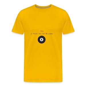 billard - T-shirt Premium Homme