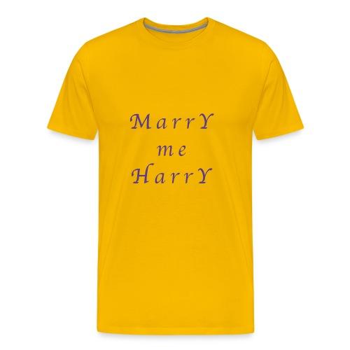 Marry me Harry (violet) - T-shirt Premium Homme