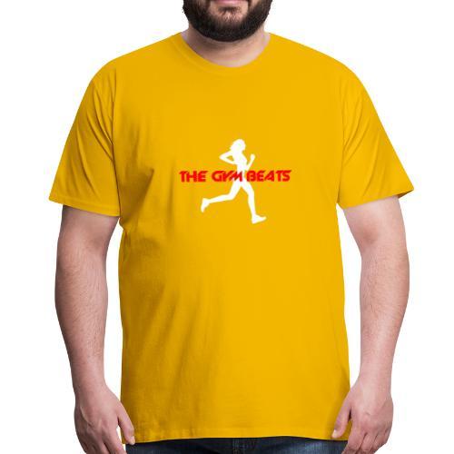 THE GYM BEATS - Music for Sports - Männer Premium T-Shirt