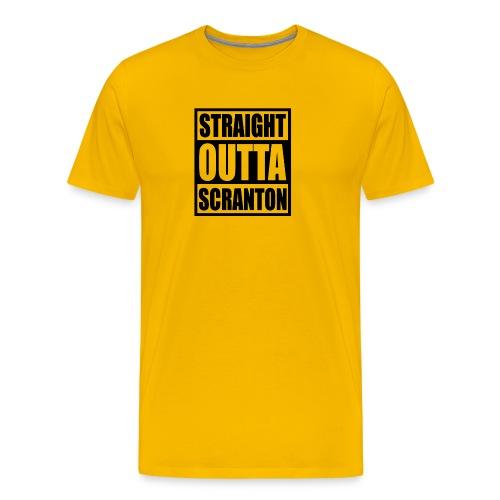 Straight Outta Scranton - Men's Premium T-Shirt