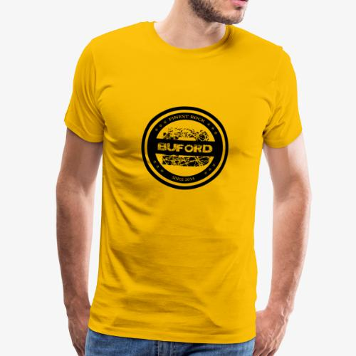 Buford Circle schwarz - Männer Premium T-Shirt