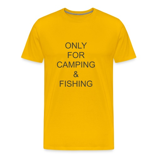 Camping & Fishing - Men's Premium T-Shirt