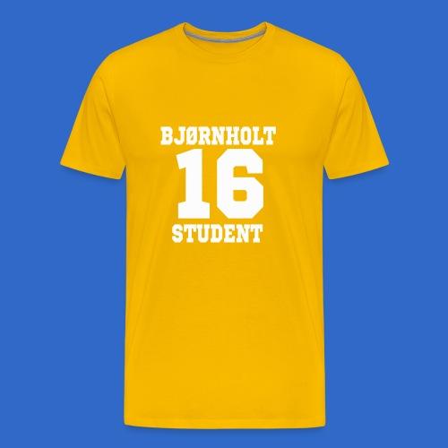 Bjørnholt Hoodie 2016 - Premium T-skjorte for menn