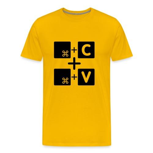 Copy paste Mac Edition - Männer Premium T-Shirt