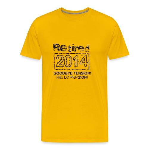 retired 2014 - Männer Premium T-Shirt