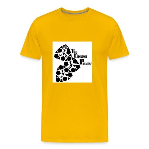 Camiseta Logo Standard The Unknown Paradise - Camiseta premium hombre