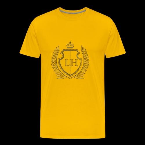 Leistungshunger Basic Grey - Männer Premium T-Shirt