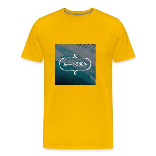 Knowitall 2016 - Men's Premium T-Shirt