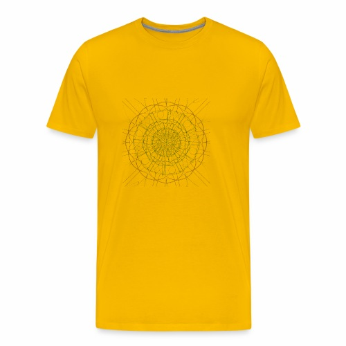 Mandala - Miesten premium t-paita