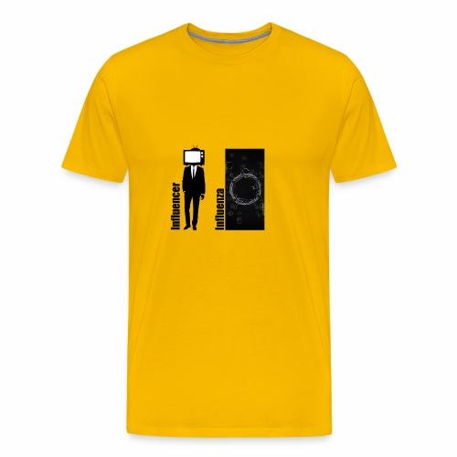 Influencer vs. Influenza - Männer Premium T-Shirt