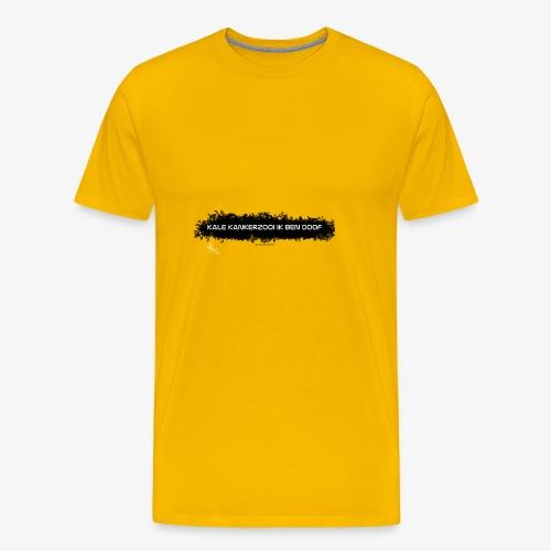 ik zit aan de pille - Mannen Premium T-shirt
