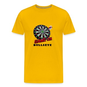 Darts Bullseye Game on - Mannen Premium T-shirt