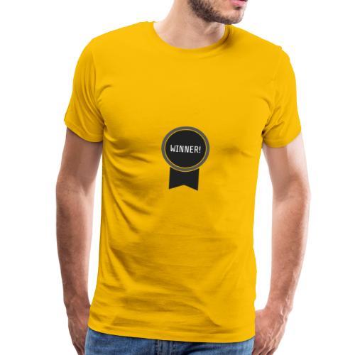 Logo Winner - T-shirt Premium Homme